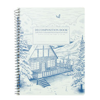 "Michael Roger Press, Decomp Book, 9""x7"", Snowy Chalet"