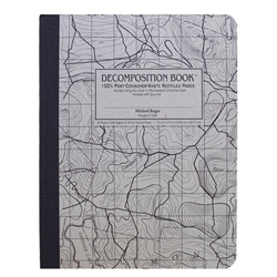Michael Roger Press Decomp Book Topographic 9 x7