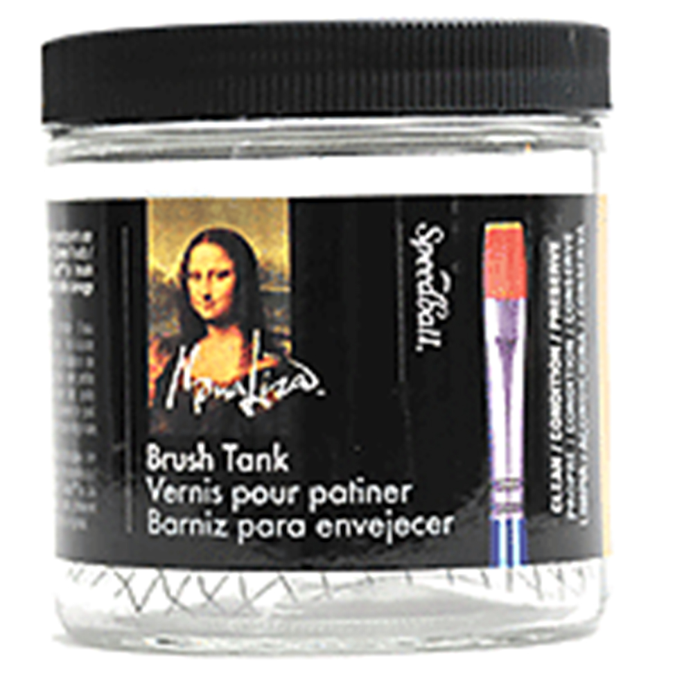 Mona Lisa, Brush Cleaning, Tank