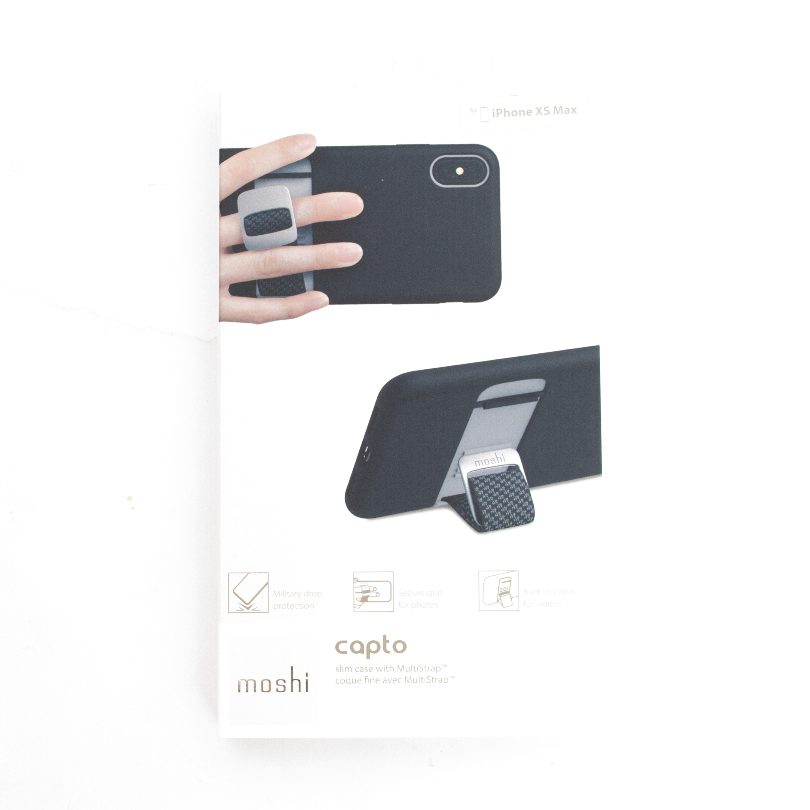 Moshi, Capto, Slim Case, iPhone, Black
