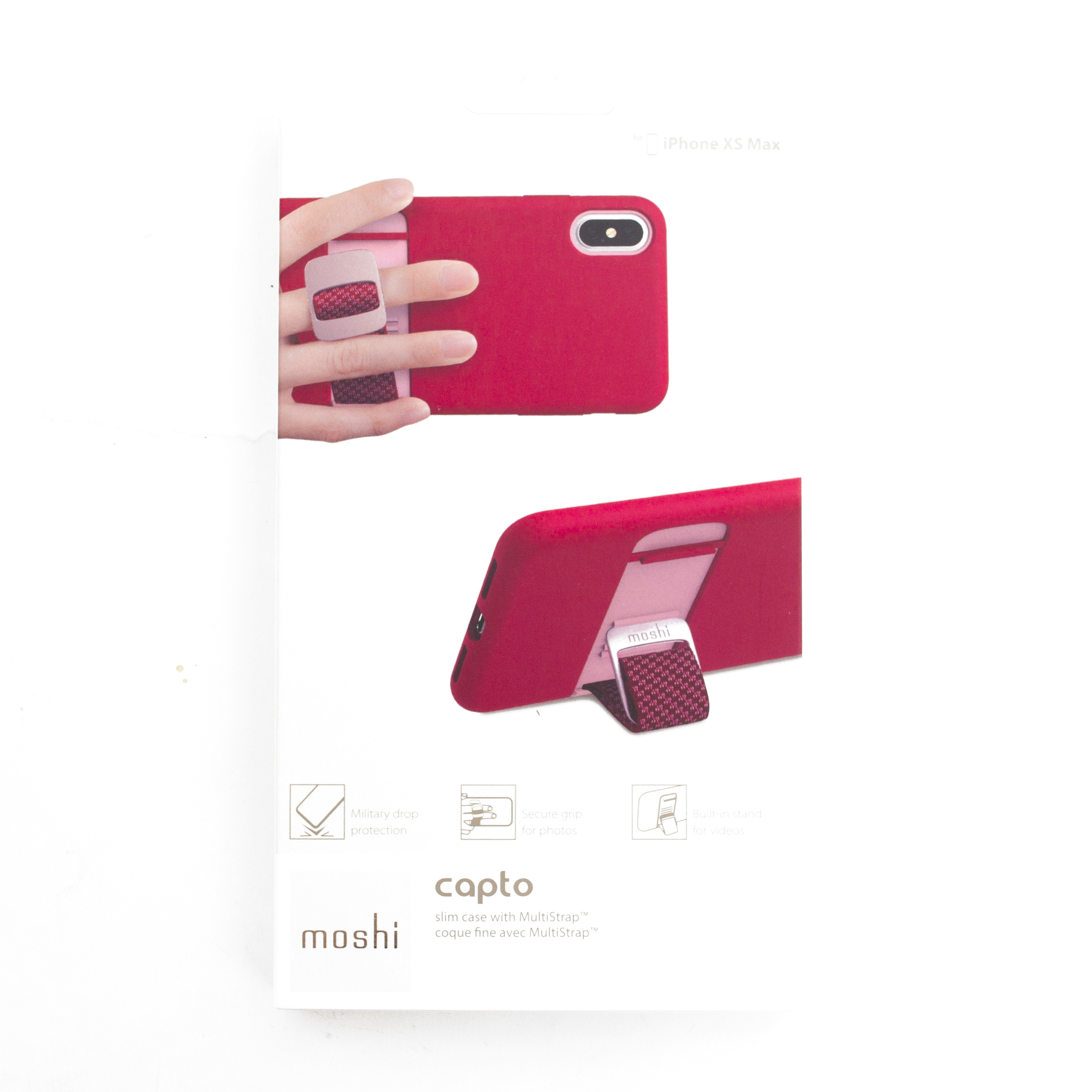 Moshi, Capto, Slim Case, iPhone, Pink
