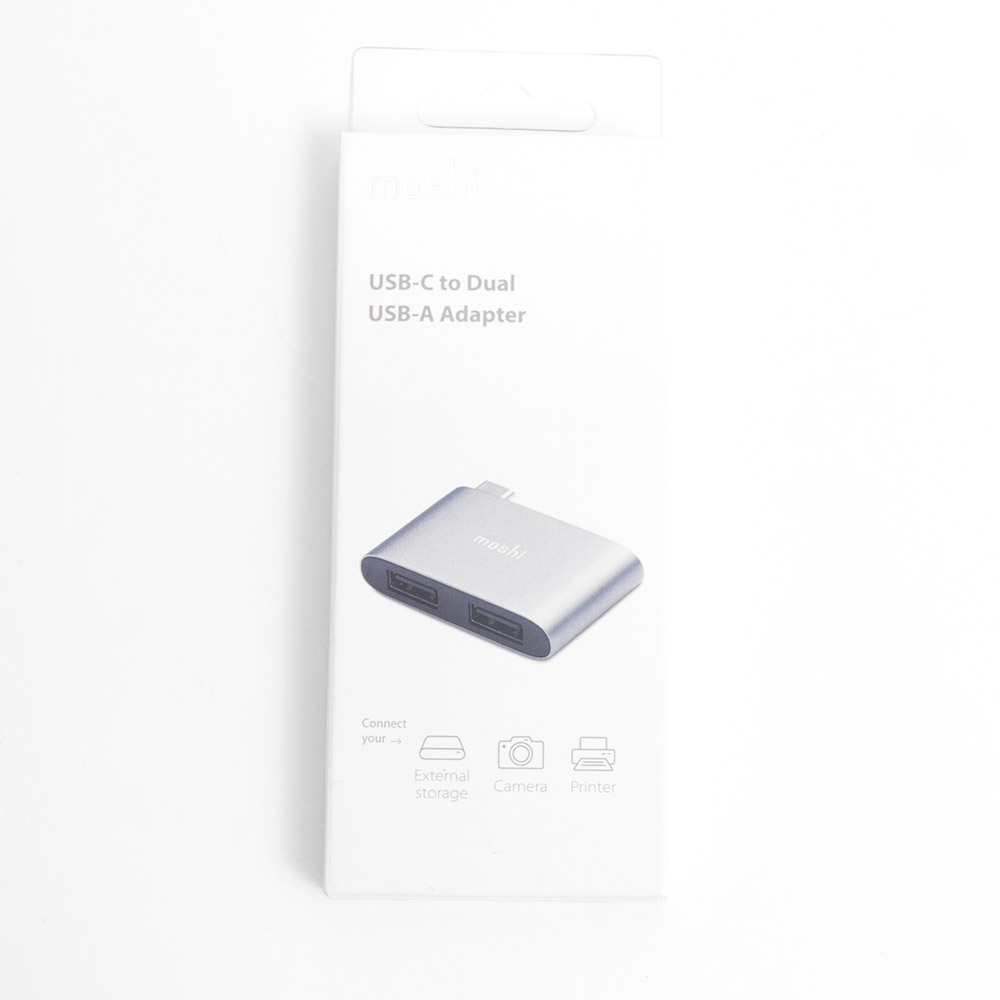 Moshi, USB-C, Dual Port Adapter