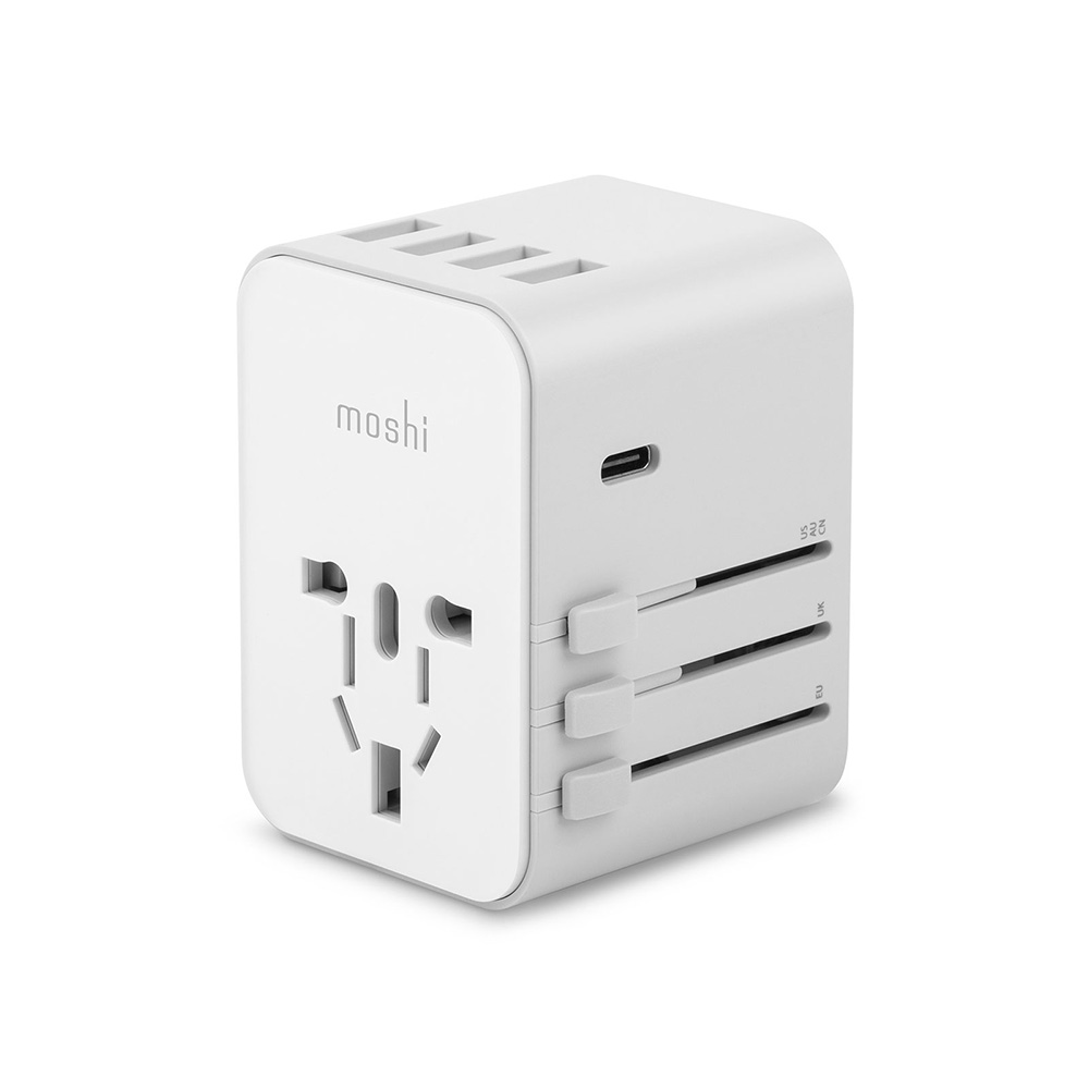 Moshi, Travel Adapter, USB-C