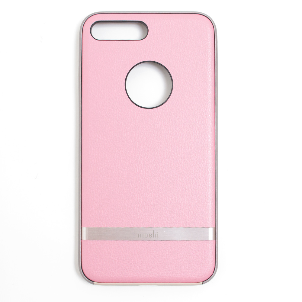 Moshi Napa Vegan Leather Case For iPhone 7+_Pink