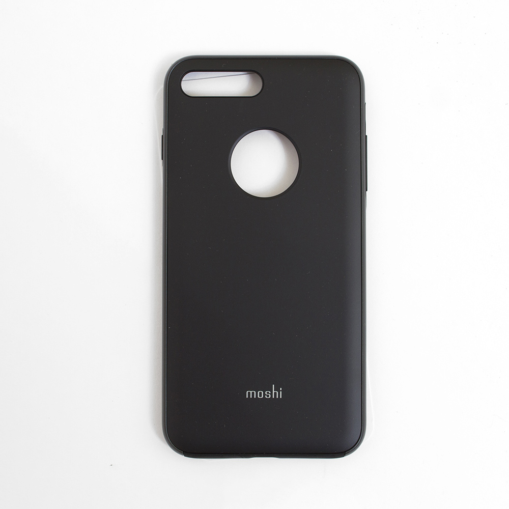 Moshi, iGlaze, Slim, Hard Shell, Case, iPhone 7+/8+, Black