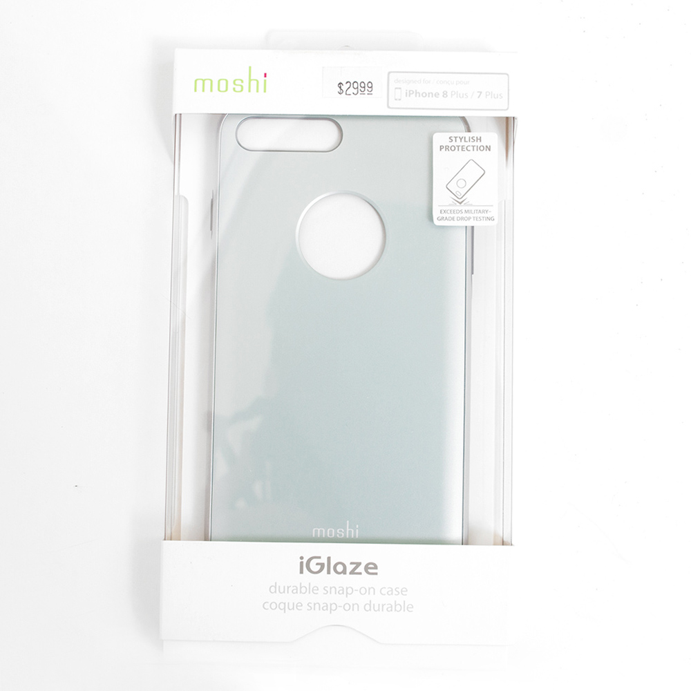 Moshi, iGlaze, Slim, Hard Shell, Case, iPhone 7+/8+, Blue