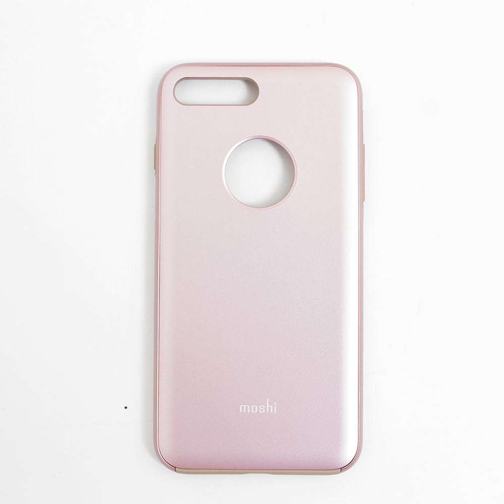 Moshi, iGlaze, Slim, Hard Shell, Case, iPhone 7+/8+, Pink