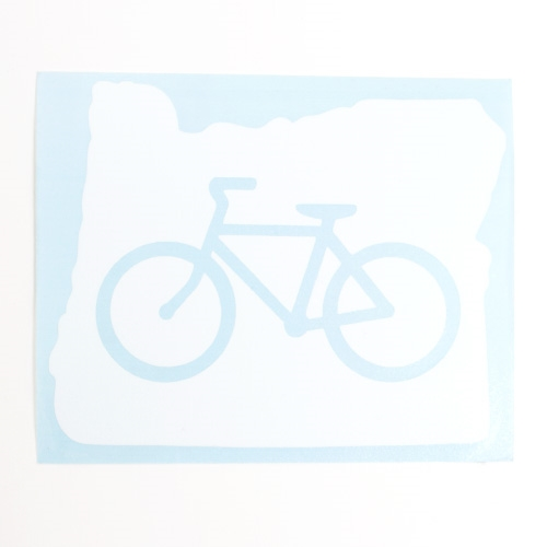 NW Bike In Oregon Sticker