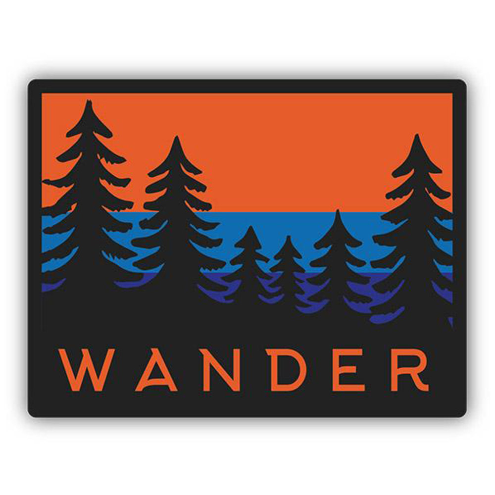 Sticker, Northwest Theme, Horizon, Wander