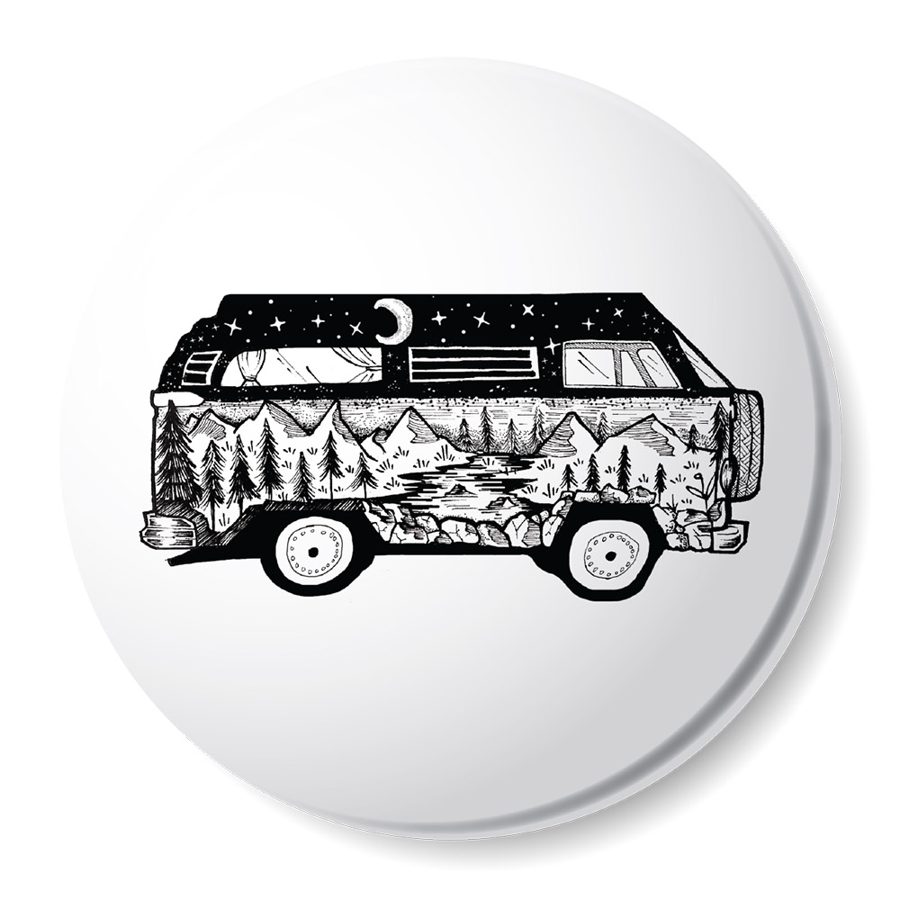 NW, Oregon Bus, Magnet
