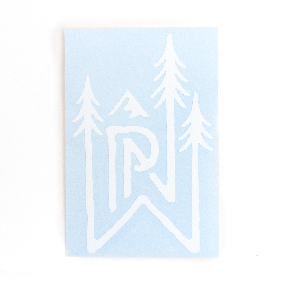 Decal, Northwest Theme, Trees, PNW