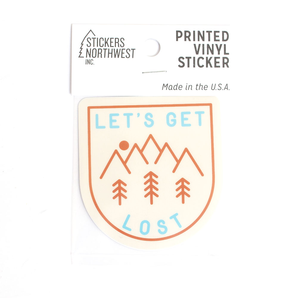 Lets Get Lost, Sticker