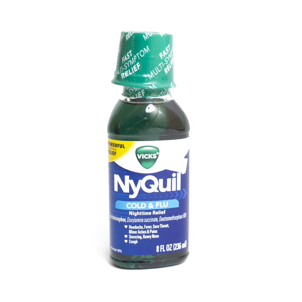 Nyquil, Cold Liquid