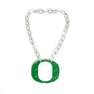 Classic Oregon O, Diamond Plate, Necklace, Chain