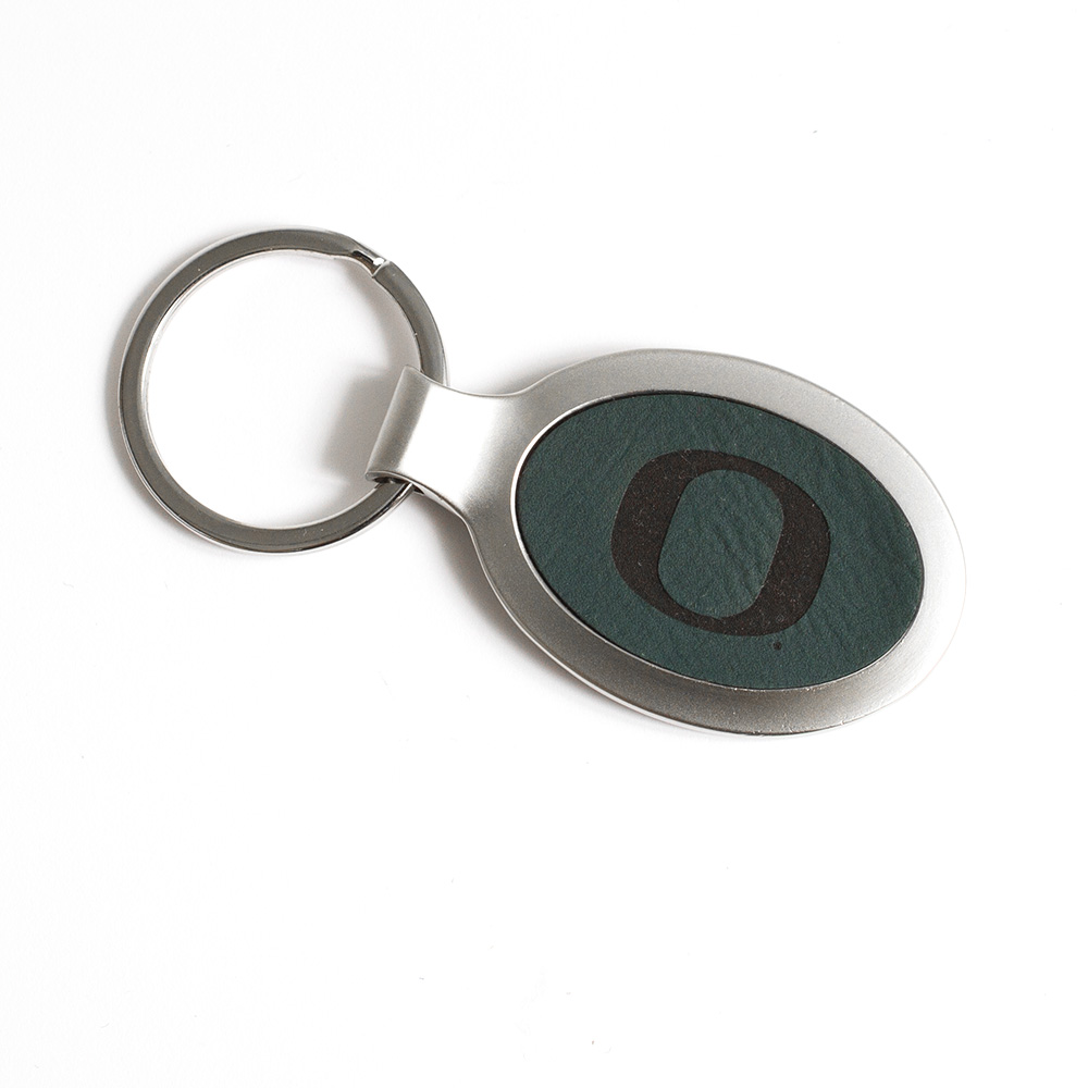 O-logo, Forest Velour, Metal, Keytag