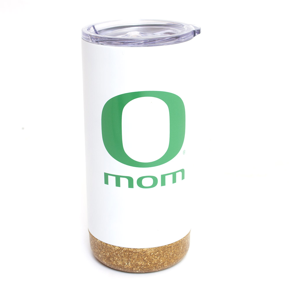 Classic Oregon O, Mom, 18 ounce, Travel, Tumbler