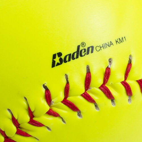 O Neon Yellow Official 12-IN Softball