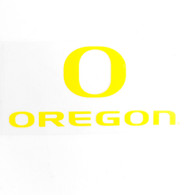 O Oregon Decal - Outside