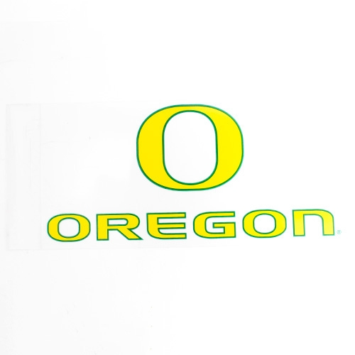 "Classic Oregon O, Oregon, 6"", Decal"