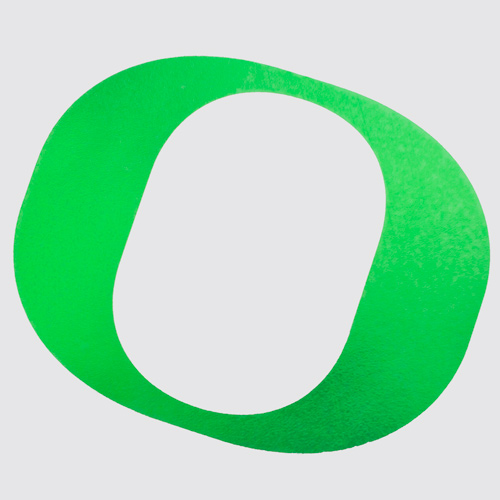 O Outside Decal 4_Green Chrome