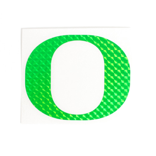 O Outside Decal 4_Green Mosaic