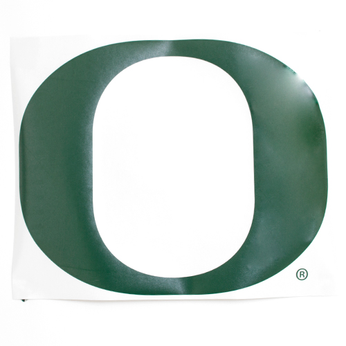 "Classic Oregon O, RV, Decal, 22""x27"""