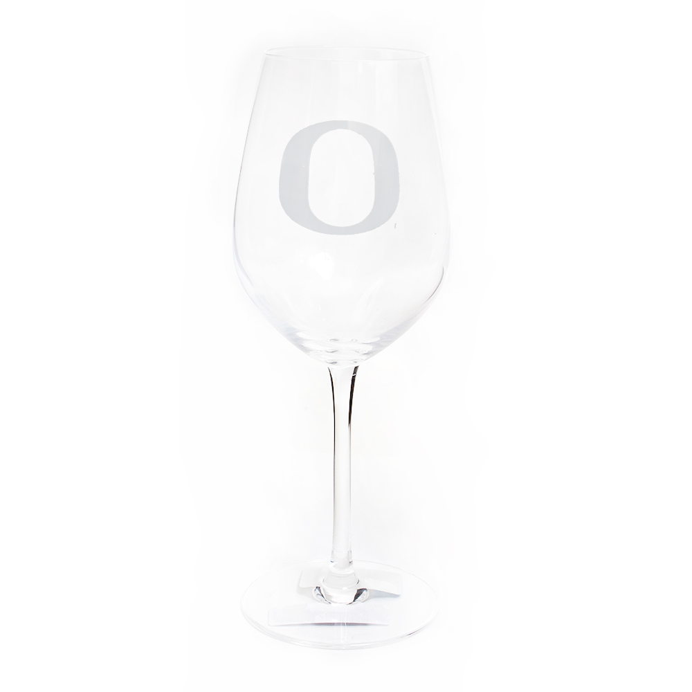 Classic Oregon O, 12 ounce, Wine, Glass