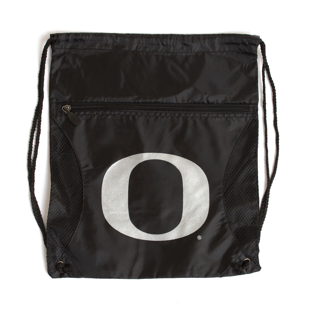 Classic Oregon O, String Bag, Black