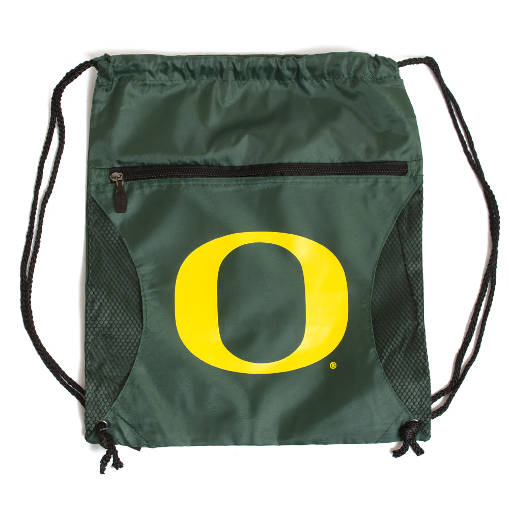 Classic Oregon O, String Bag, Forest Green