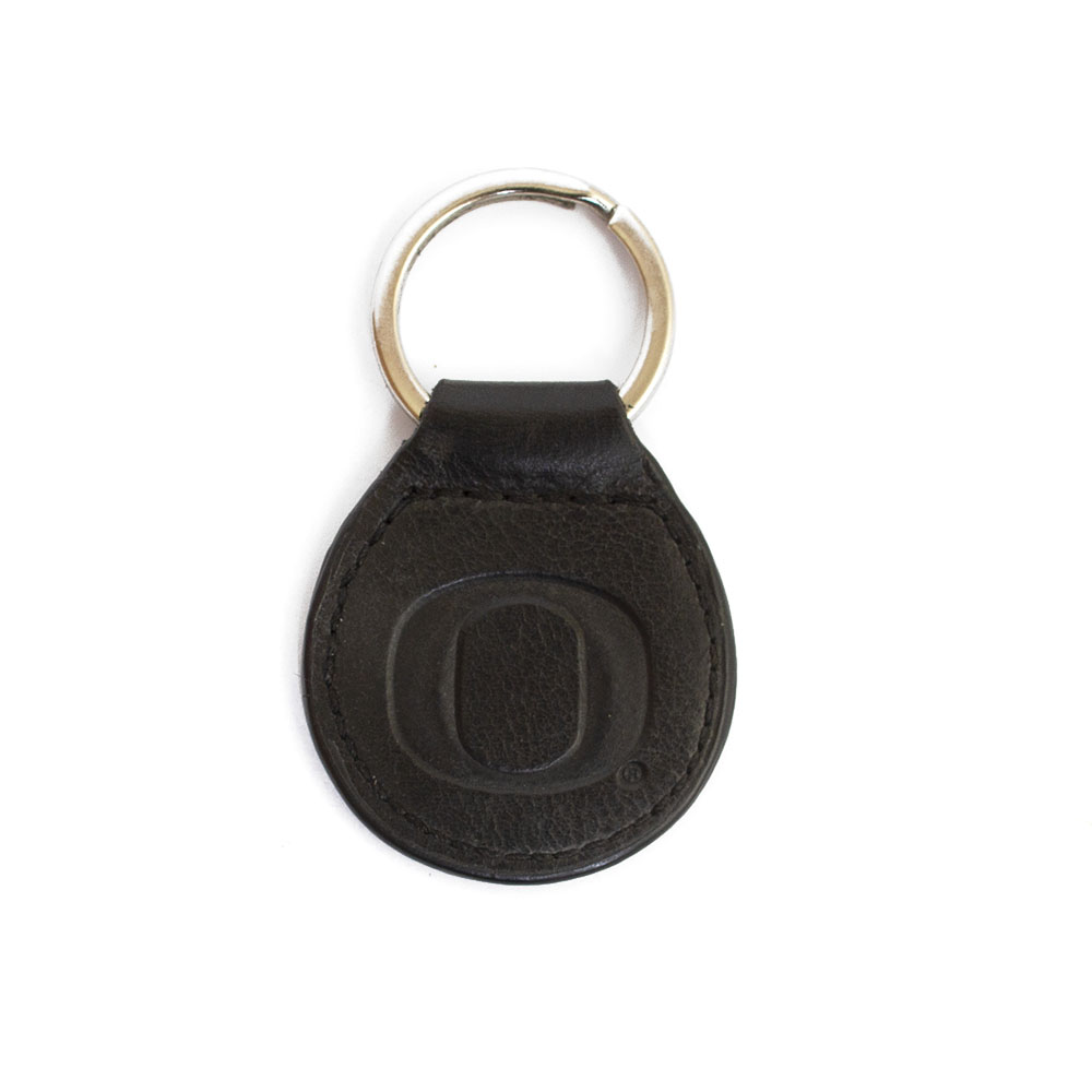 Classic Oregon O, Westbridge, Leather, Keyfob, Keytag