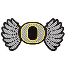 Classic Oregon O, Wings, Decal