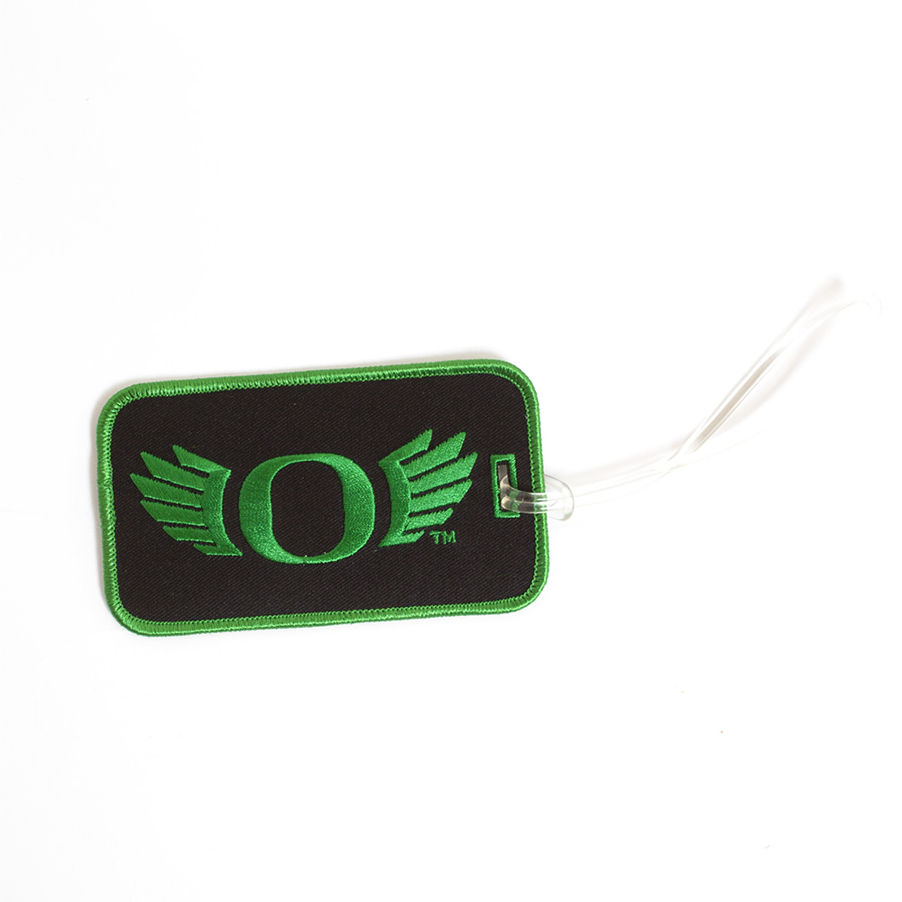 Classic Oregon O, O WINGS, Luggage Tag