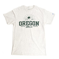 Oregon Mom, Blue 84, Tri-Blend, T-Shirt