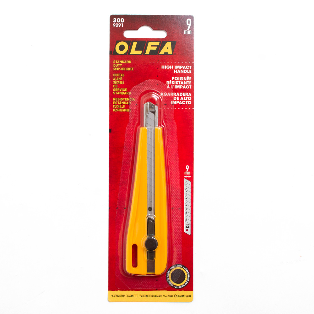 Olfa Ratchet-Lock Utility Knife No300_1