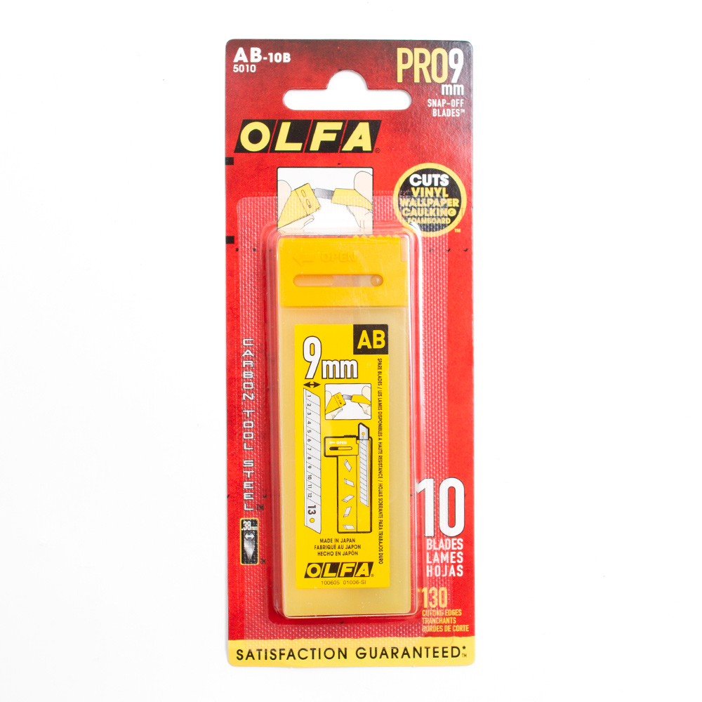 Olfa Snap-Off Blades 18mm 10pk