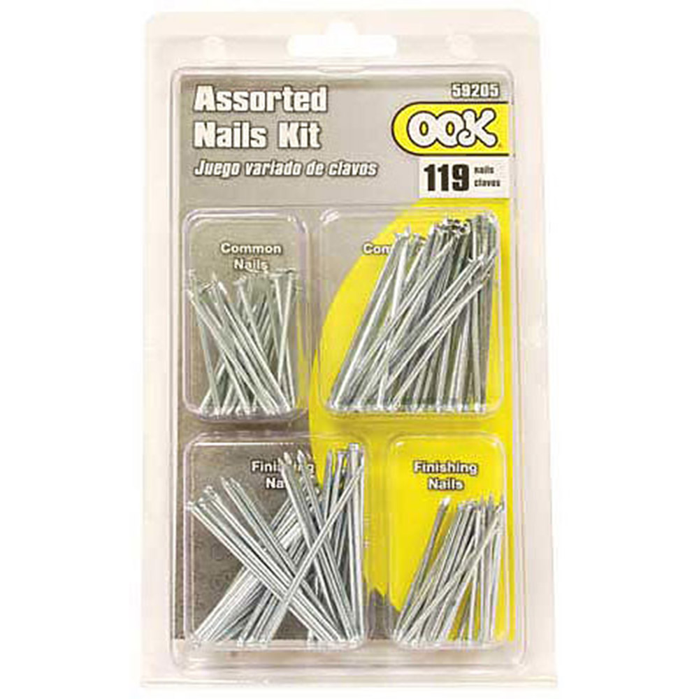 Ook, Nails, 119 Piece, Assorted Set