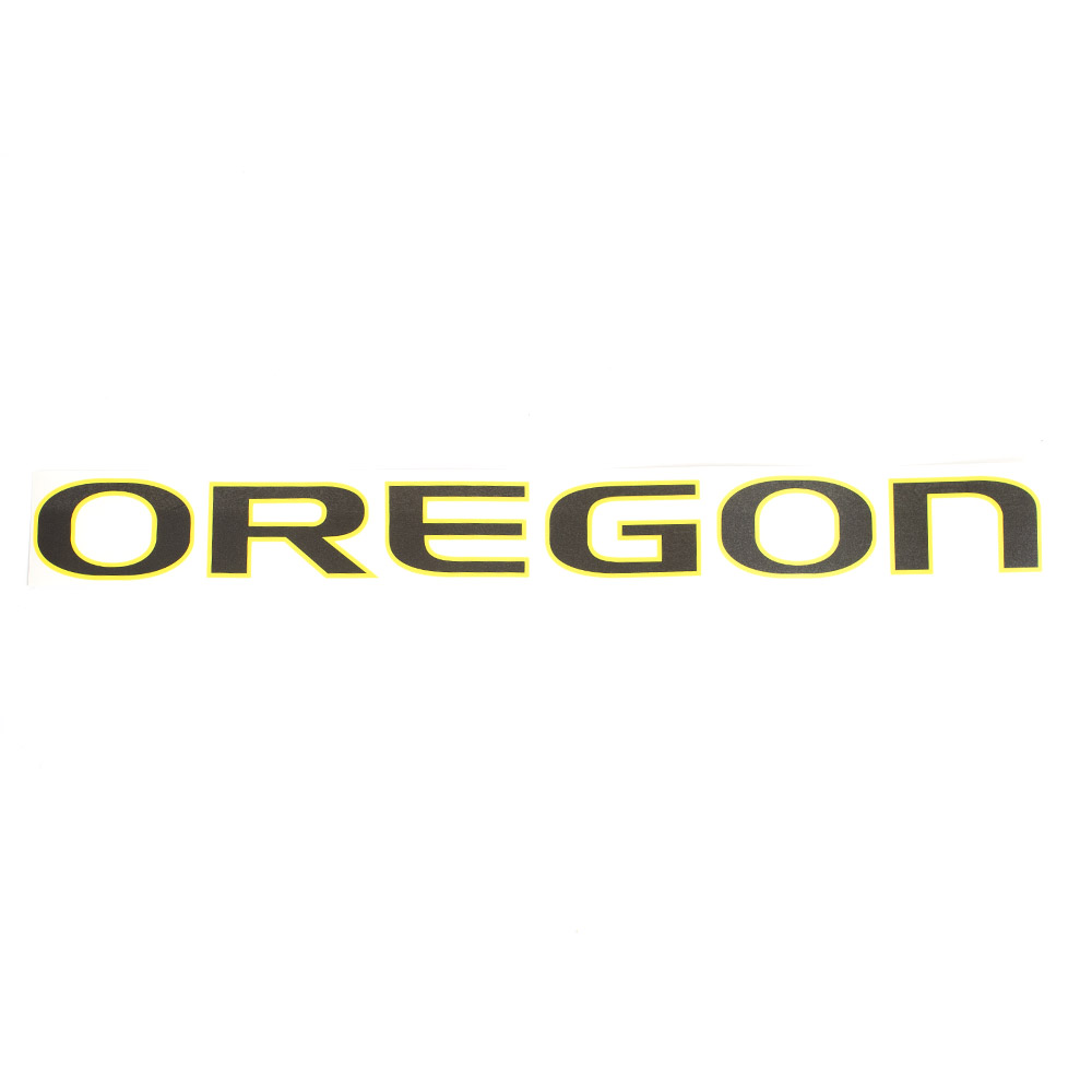 "Oregon, Decal, Outside, 26"", Black"