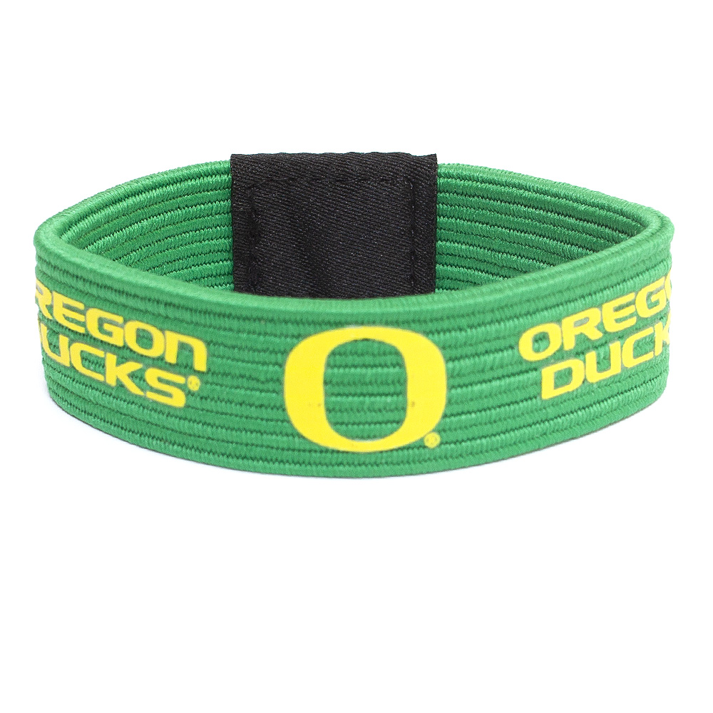 Classic Oregon O, Oregon Ducks, Stretch, Wristband