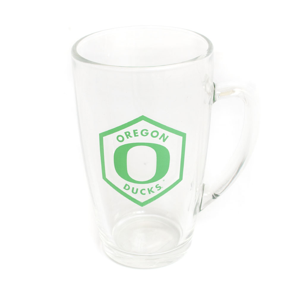 O-logo, Ducks, Glass, Pub Glass, 13.5 ounce