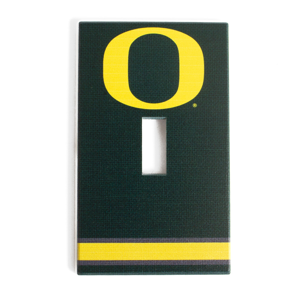 O-logo, Single Toggle Plate, Switch cover, Hidden screws