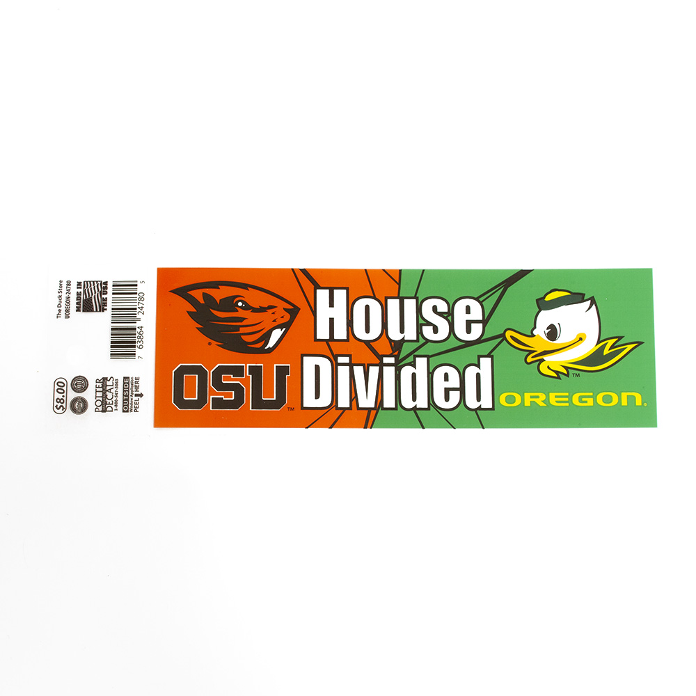 House Divided, Fighting Duck, Decal