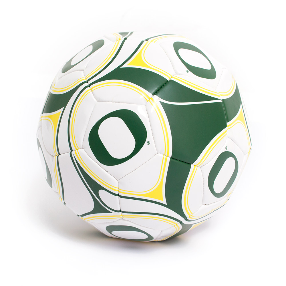 Oregon Official Size 5 8.5 in Soccer Ball