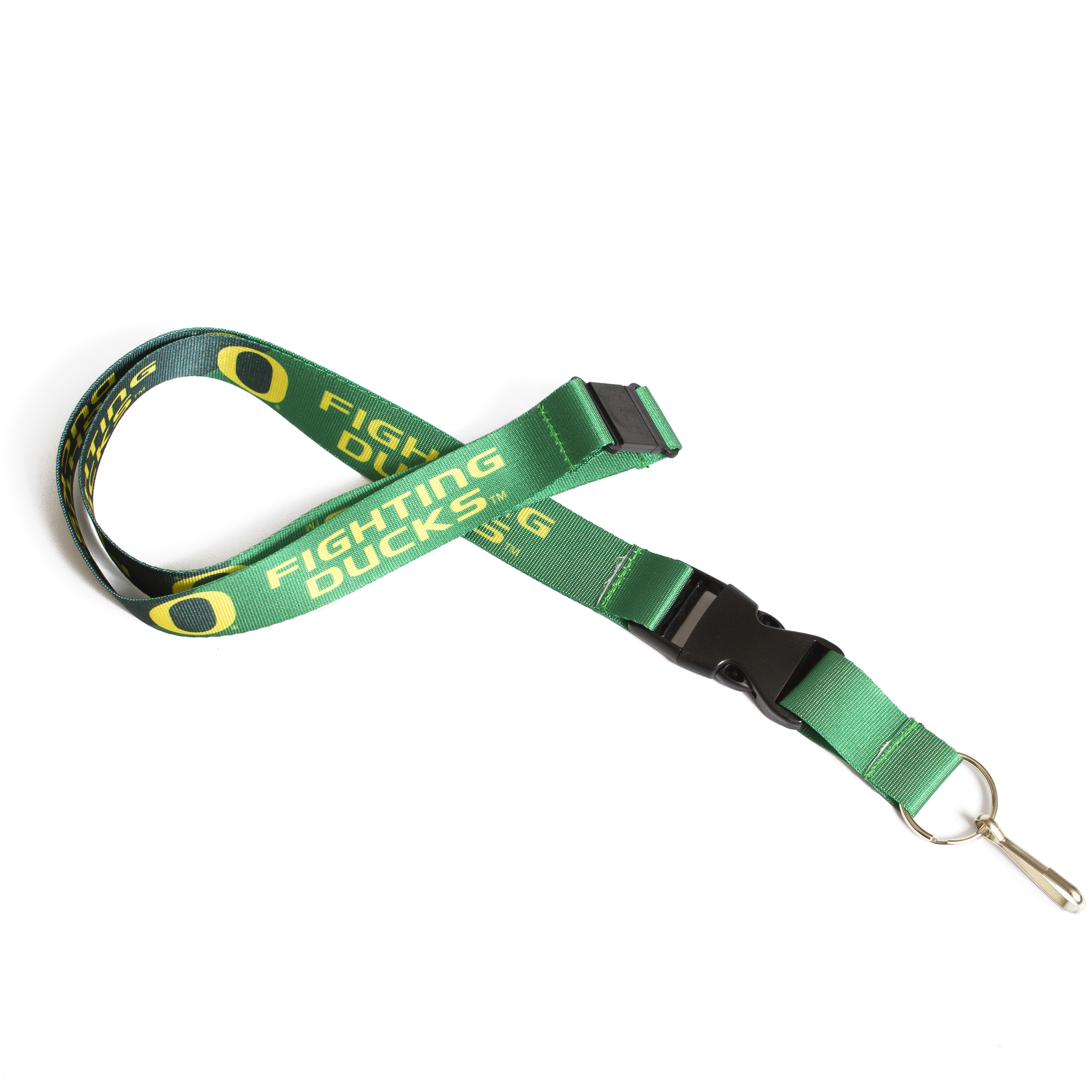 O-logo, Fighting Ducks, Metal Hook, Lanyard