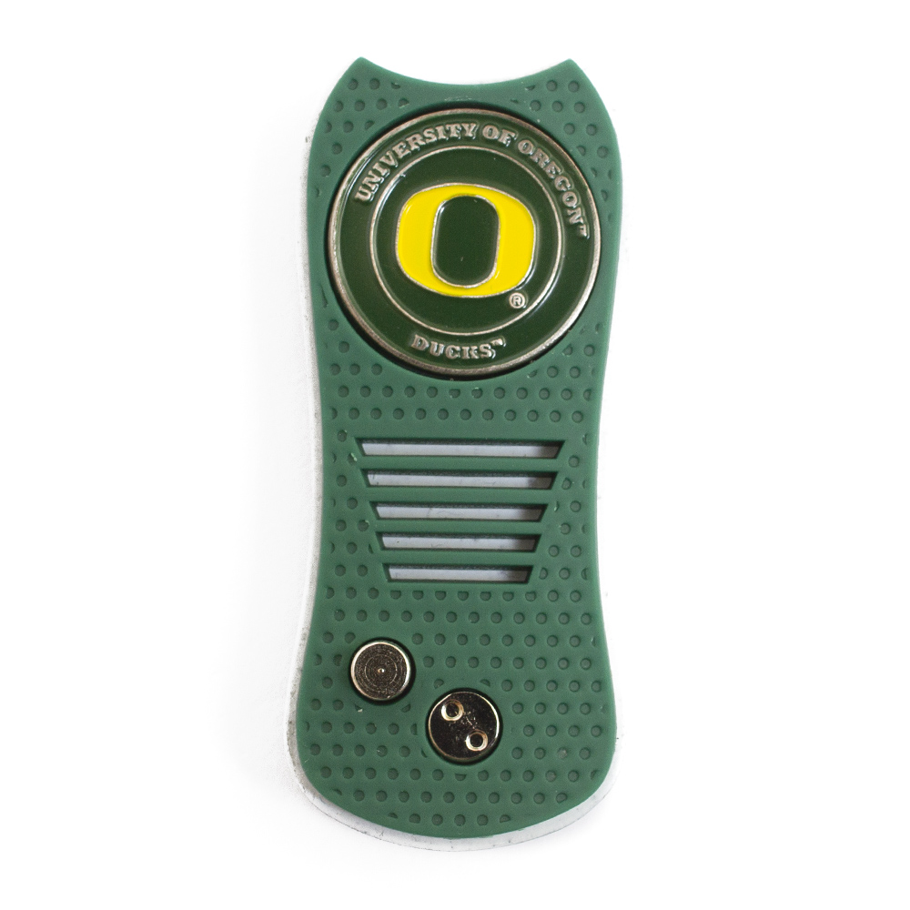 Oregon design, Switchblade action, Divot tool