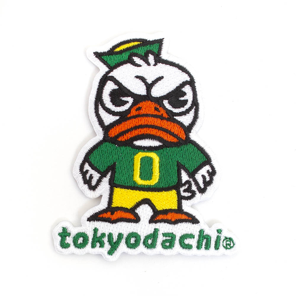 "Oregon, Tokyodachi, 3"", Embroidered, Patch"