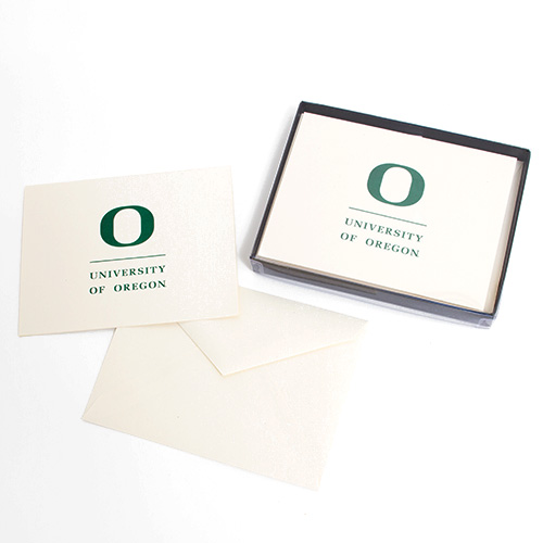 Overly Blank Oregon Boxed Notecard Set 8pc