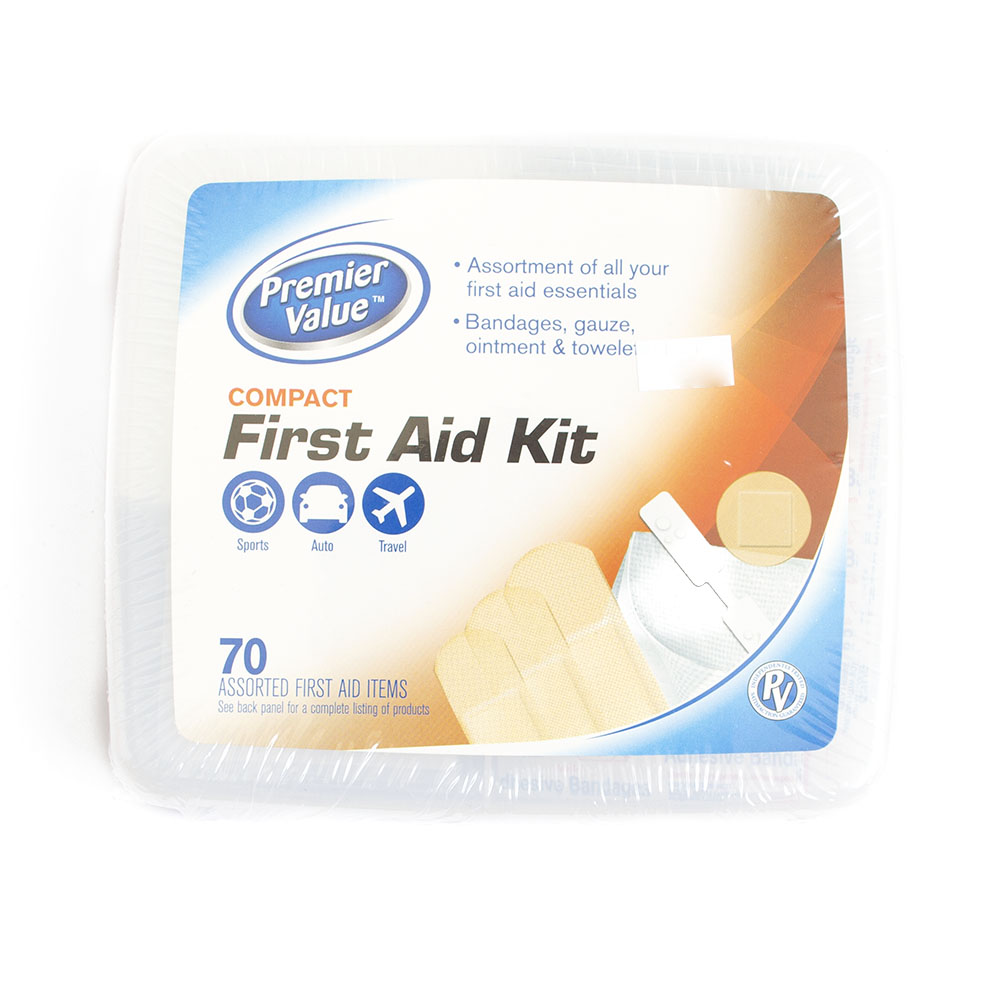 First Aid Kit, 70 piece