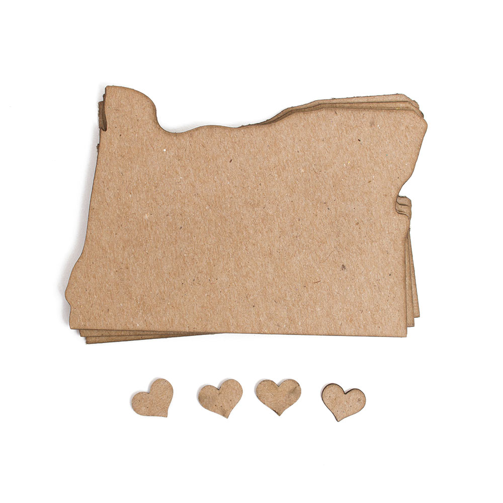 Oregon, Paper, Hearts