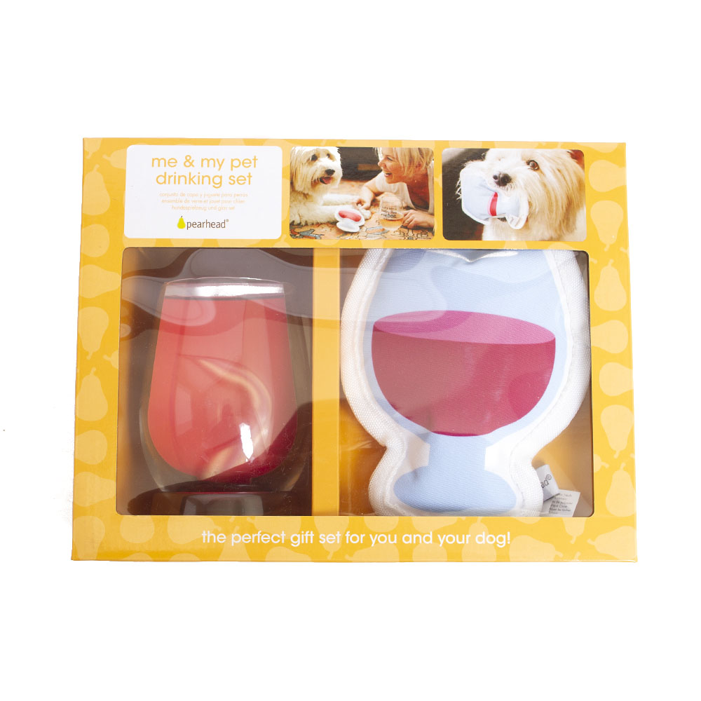 Pearhead, Gift Set, Not Drinking, Dog