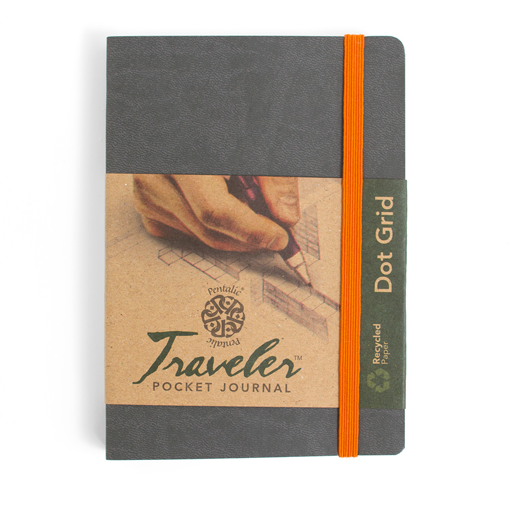 Pentalic Traveler Journal 6x4-In Dot Grid